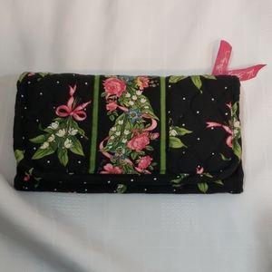 Vintage Vera Bradley hope trifold wallet